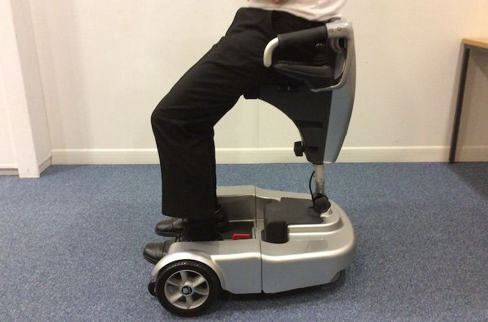 A British inventor could be set to revolutionise the lives of the disabled and elderly whose only choice up until now has been to use a walker, wheelchair or mobility scooter with the development o…
