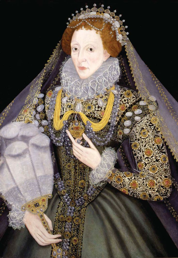 Queen Elizabeth I with a Fan, 1585-1590. Artist Unknown. Private Collection. On Loan to Bristol Museums.