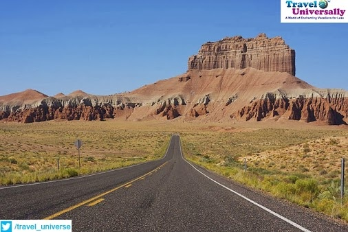 So wouldn't you love to drive through this Scenic Highway?  It's Interstate 70 Highway in Utah.