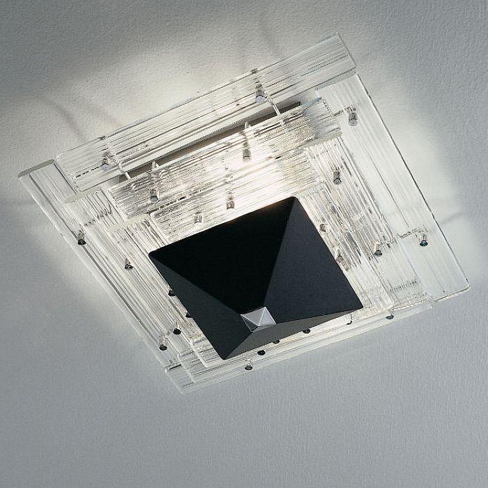 aztec modern ceiling light fitting pyramid ceiling light