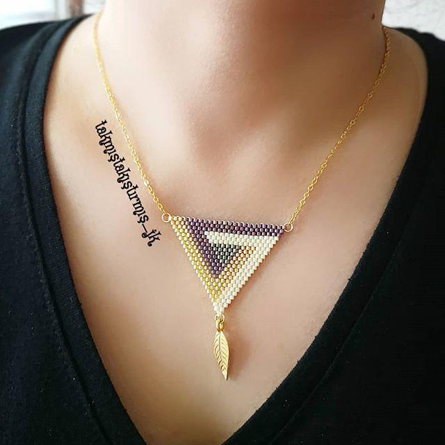 #takmıştakıştırmış #miyuki #delika #doğaltaş #boncuk #takı #kolye #küpe #bileklik #yüzük #ring #earing #neaklace #bracelet #bead #handmadejewellery #desing