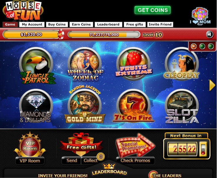 """House of Fun"" Slots ~ Ranked #9 ~ 05/2012"