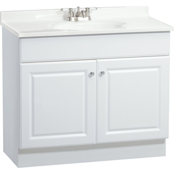 White Bathroom Vanity With Top. Estate By Rsi White Richmond Bath Vanity With Top At Lowes Organize Your Bathroom With This Vanity With Top From The Richmond Collection