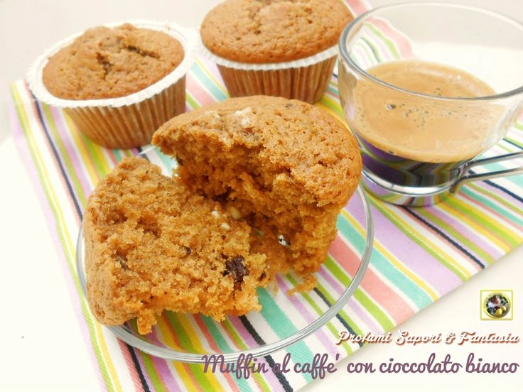 Muffin al caffè con cioccolato bianco ricetta