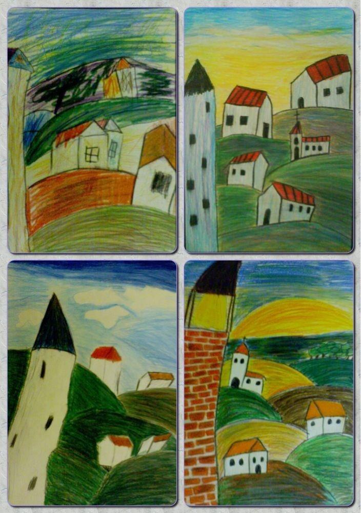 Fru Billedkunst - glimt fra min billedkunstundervisning: Hanne Bach inspiration