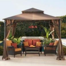 Summer and Spring warrant new outdoor decorating ideas, and there's no shortage of those.