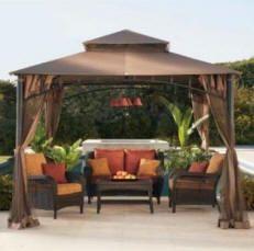 outdoor decorating ideas home madaga gazebo - Outdoor Decor Ideas
