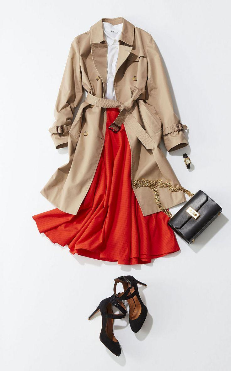 UNIQLO 素敵なオレンジスカート おしゃれ心が高まる春ももう目前!最初に買うアイテムは、絶対失敗したくないもの。簡単におしゃれを更新できて、初夏まで確実に使える5アイテムを、BAILAでも人気のスタイリスト吉村友希さんが厳選しました。着回し力とほどよいトレンド感を両立した5着で、春の新しいおしゃれを楽しんで!1. ブルゾン軽やかでスポーティなブルゾンならスカートコーデもぐっとこなれる!新作のブルゾンは、スポーティでほどよくカジュア...