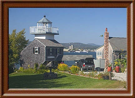 Rockland Harbor Southwest Lighthouse, Owls Head, Maine.  There on Sept. 13th.