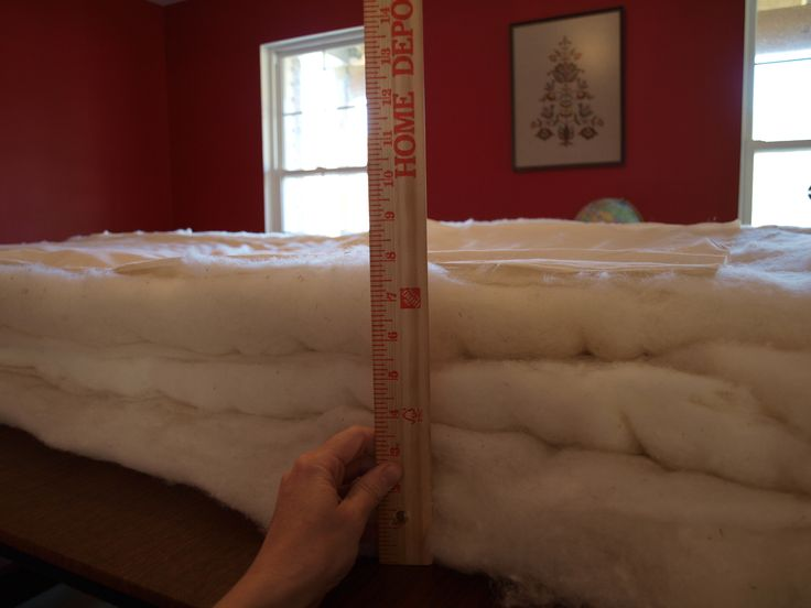 DIY mattress making tutorial