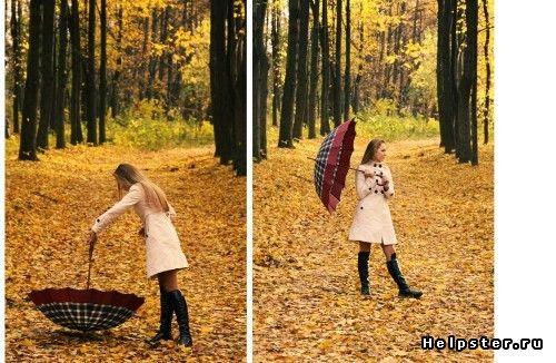 Нужна идея для осенней фотосессии / осенние фотосессии девушек