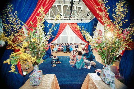 a bengali-american fusion wedding!