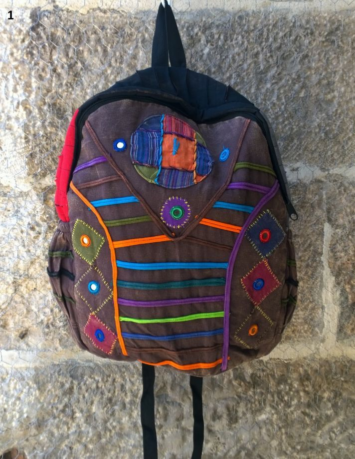 KARGO BİZDEN Çok Tarz Bohem Sırt Çantası , Okul çantası Keten Çanta, Nepal Çanta , Etnik Çanta - 08 Zet.com'da 59 TL