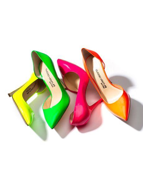 "Duccio Venturi ""Siria"" Neon Pumps: Fashion, Neon Heels, Style, Colors, Duccio Venturi, Siria Pump, Neon Pumps, Neon Color, Neon Shoes"