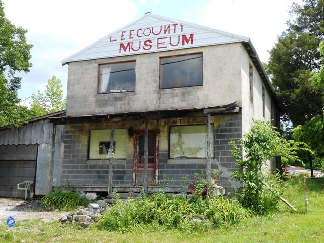 The Old Museum In Pennington Gap Va