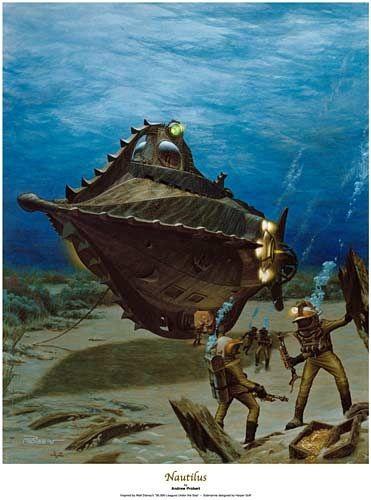 disney nautilus wallpaper - photo #29