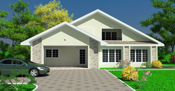 Modern modern house plans ghana new ghana house plans new for Modern house 49