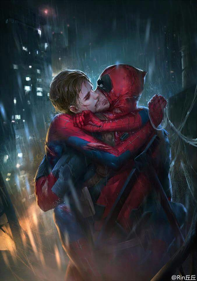 Spideypool<<< Don't care what anyone says, I love these two <3