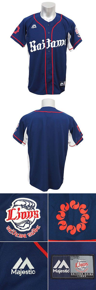 Baseball Shirts and Jerseys 181336: Saitama Seibu Lions Jersey Shirts Japan Baseball Npb Majestic -> BUY IT NOW ONLY: $83 on eBay!