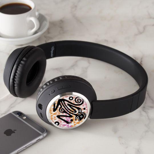 Vintage Aztec Monkey Bluetooth Headphones