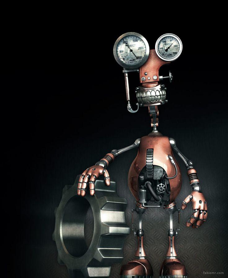 Прикольные картинки роботов