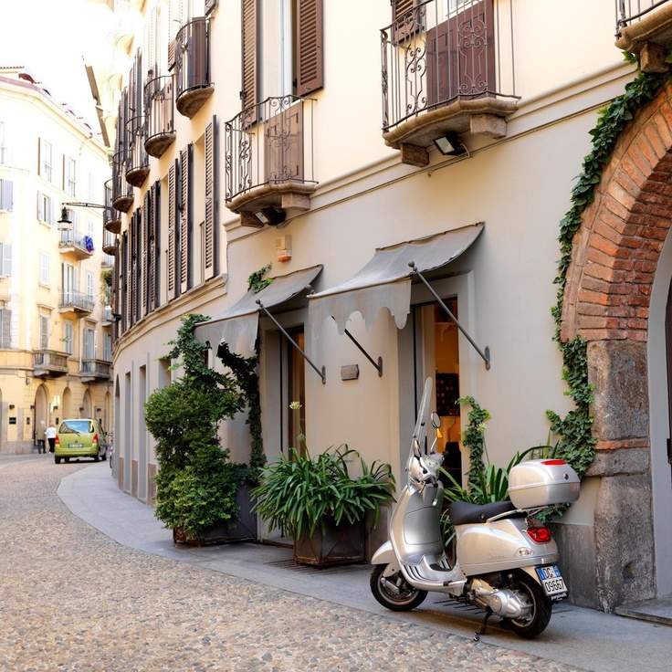 Italy, Milan. Brera district: the heart of the city.