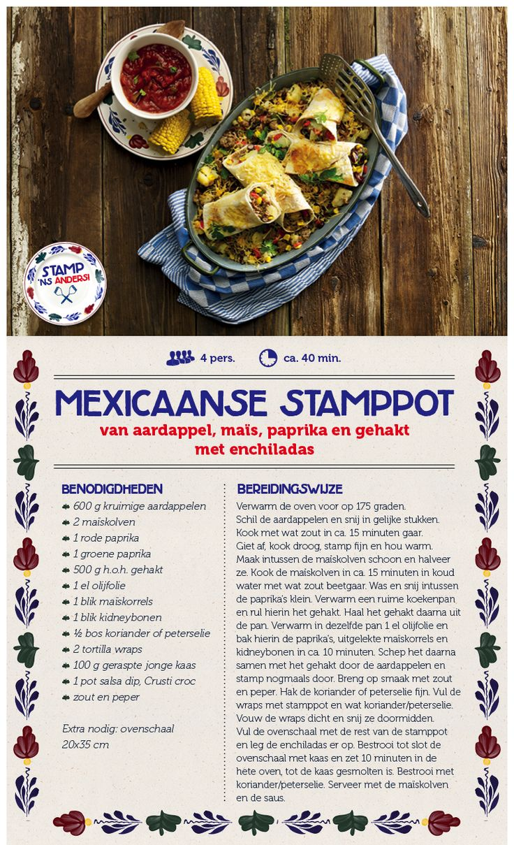 Mexicaanse stamppot