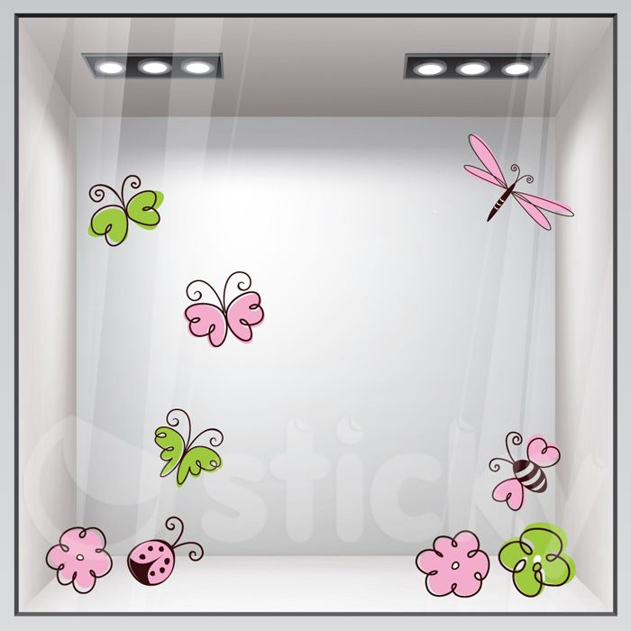Window Sticker SPRING10 by Sticky!!!