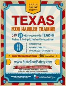 74 best food handler training images on pinterest baking business new texas food handler requirements effective october 11 2015 last month texas senate fandeluxe Images