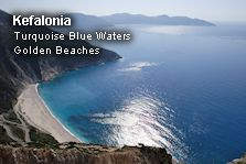 See some of the most beautiful beaches of Kefalonia