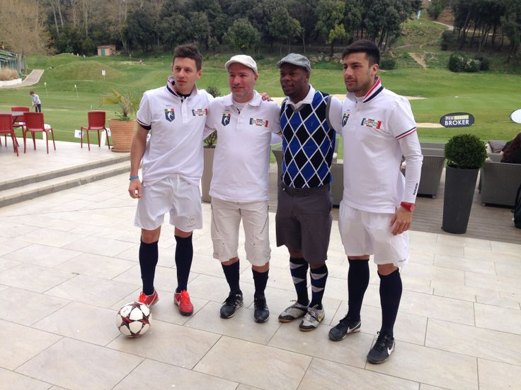 ottonello - bracco - wiltord - rossetti alla FootGolf Cup 2014 di Marsiglia