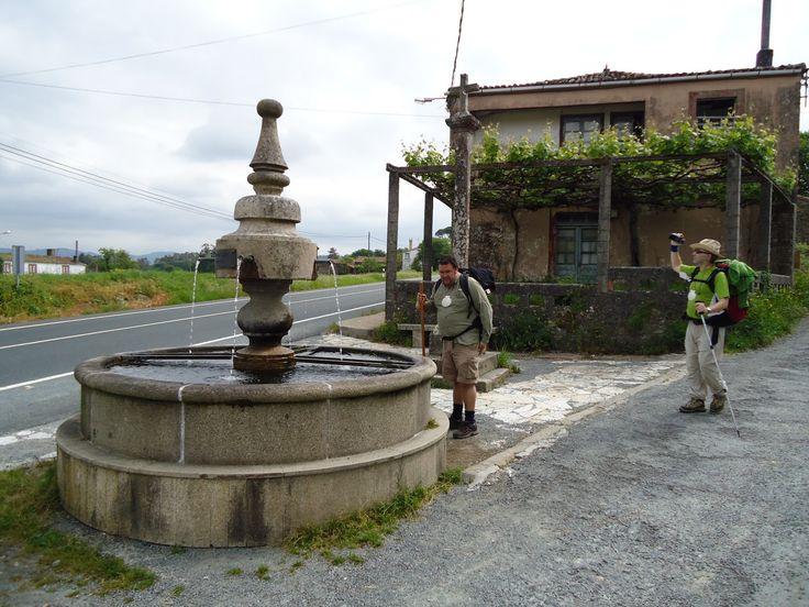 Boente, La Coruña, Camino de Santiago