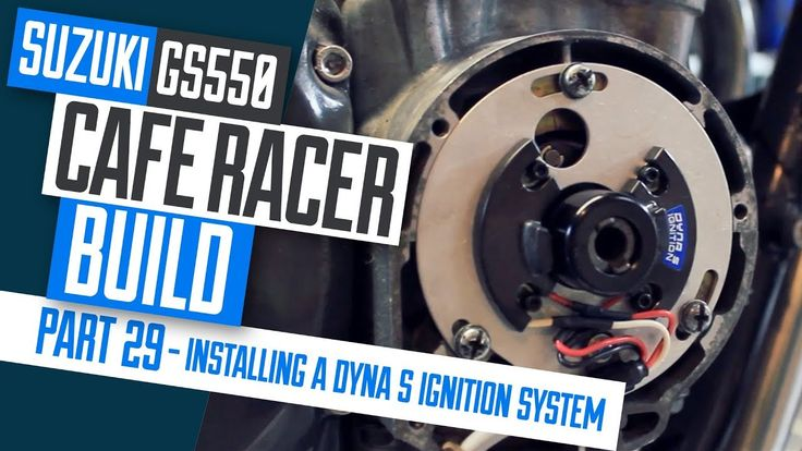 In this video we install the Dynatek Dyna S Electronic ignition system on the Suzuki GS550 Cafe Racer project. I explain the simple steps to installing the k...