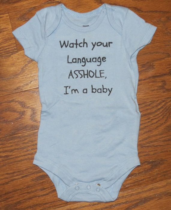 cute baby onesies funny creepers watch your by CuteBabyOnesies, $11.00