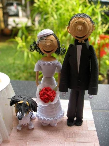 17 Best Images About 3d Quilling Boda On Pinterest