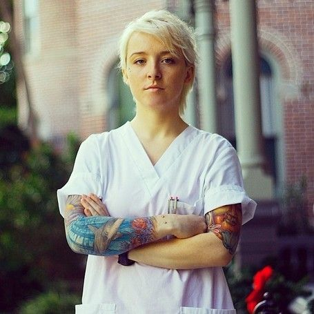 Healthcare Job Opportunities for Tattooed People #Tattoo #Job