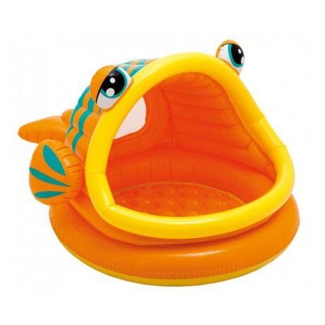 #poisson #piscine #gonflable #bebe #summer #baby #intex #bebitus