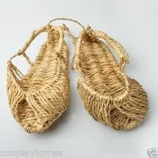 "straw shoes - will you need ""corn"" plasters?"