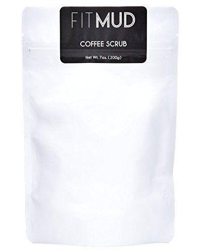 Fitmud Coconut Coffee Scrub for Cellulite, Stretch Marks - http://essential-organic.com/fitmud-coconut-coffee-scrub-for-cellulite-stretch-marks/