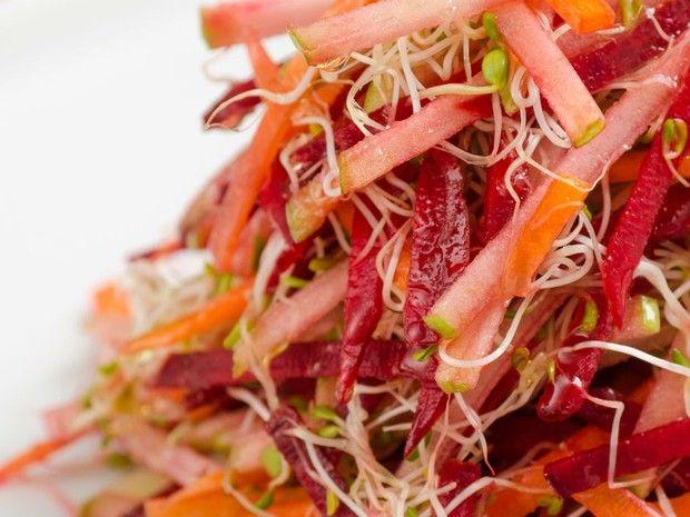 Salada de tirinhas (Foto: Divulgao/ Andr Bittencourt)