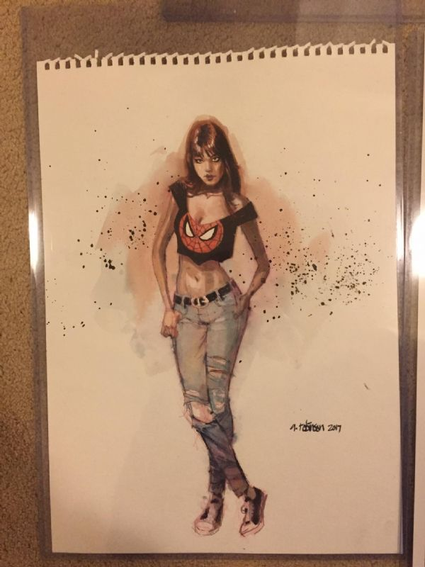Mary Jane Watson Comic Art