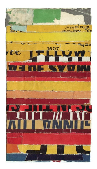 Intermezzo-55 - collage by Lisa Hochstein, 2010