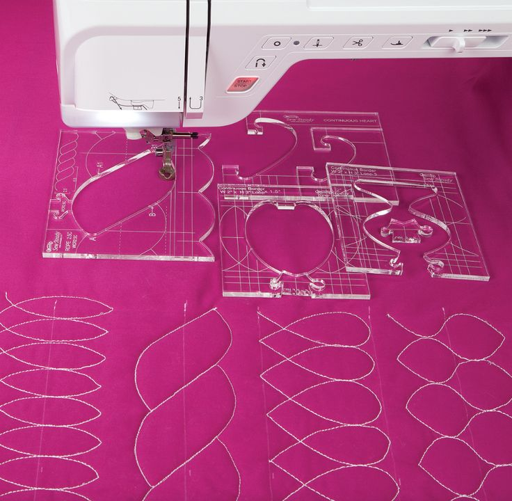 quilters rulers and templates - 130 best images about machine hand quilting on pinterest