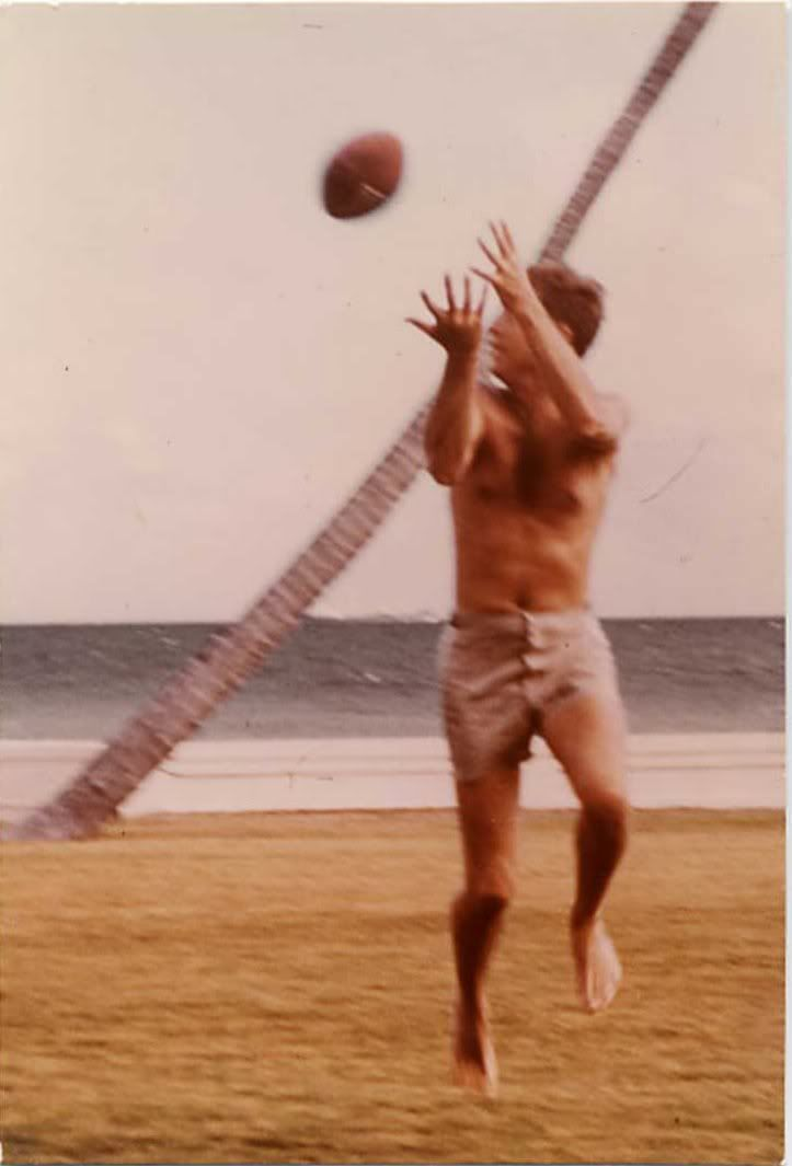 JFK Playing Football - A Favorite Family Tradition