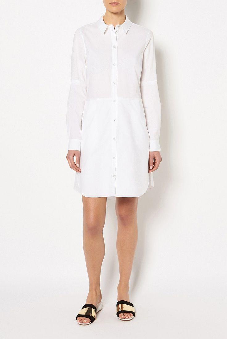 Dresses - Cotton Shirt Dress