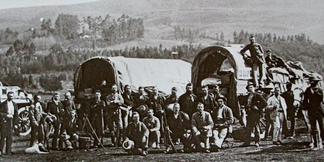 Off to the Barberton Goldfields 1884