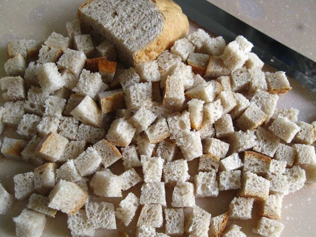 I love croutons but they are really expensive. I mean, how much can a loaf of stale bread cost? In some Western countries, they sell the...