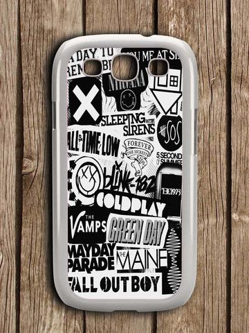 5sos Coldplay Fall Out Boy The Vamps 1975 Samsung Galaxy S3 Case