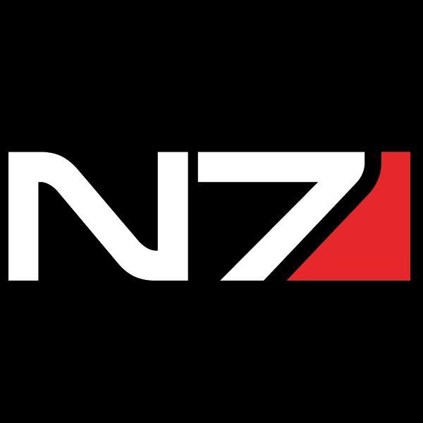 N7 Mass Effect ECI decal vinyl sticker sticker - Comics & Videogames - decalsmania.com - Your sticker shop for your car, jdm, racing