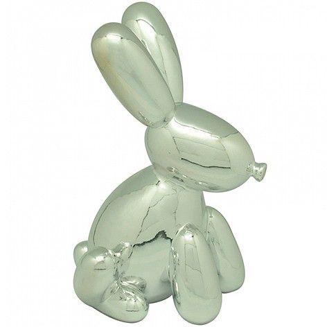 Cofre Ceramica Rabbit Bladder Prata -  URBAN                           $ 125,82